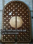 Model Pintu Masjid Kayu Jati Ukir