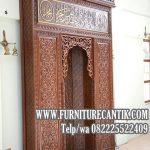 Model Pintu Masjid Mewah Jati