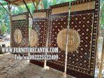 Model Pintu Masjid Motif Nabawi
