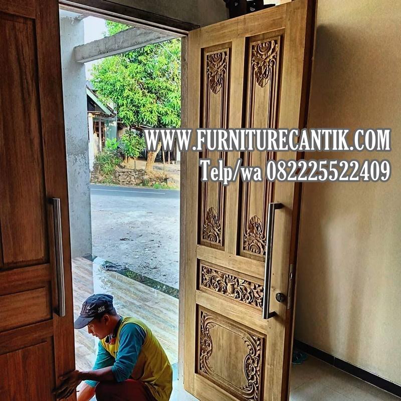Model Pintu Rumah Jati Terbaik