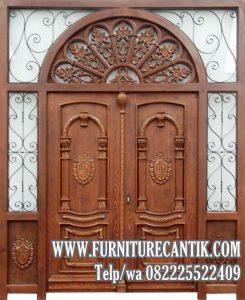 Model Pintu Rumah Ukiran Eropa