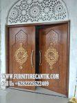Model Pintu Masjid Jati Ukiran