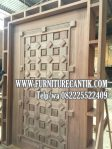 Model Pintu Masjid Kombinasi Ukiran