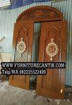 Model Pintu Masjid Motif Arabic