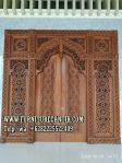 Model Pintu Utama Masjid Kaligrafi