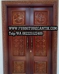 Model Pintu Utama Masjid Ukiran